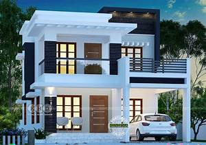 1755 Square Feet 3 Bedroom Double Floor Contemporary Modern Beautiful Home Design