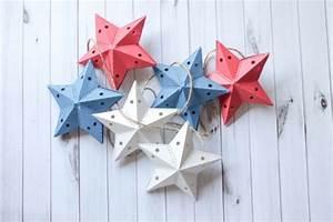 3d Sterne Aus Papier Basteln : 1001 ideen und bastelvorlagen f r weihnachtsbaumschmuck ~ Lizthompson.info Haus und Dekorationen