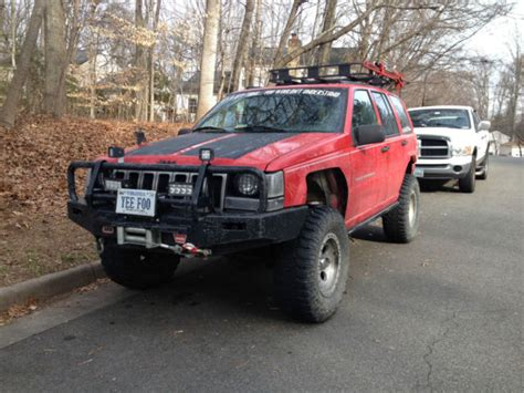 jeep grand cherokee modified lifted customized jeep grand cherokee zj 5 2l v8