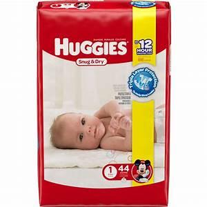 HUGGIES Little Snugglers Diapers, Newborn (Choose Diaper ...