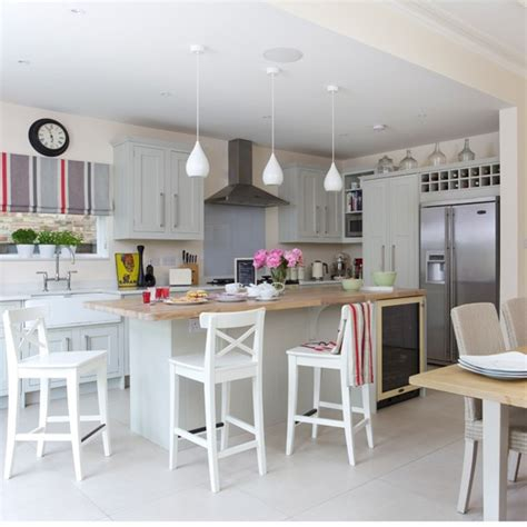 Decorating Ideas Kitchen Diner by Grey Shaker Kitchen Diner Stylish Greys Home Trends
