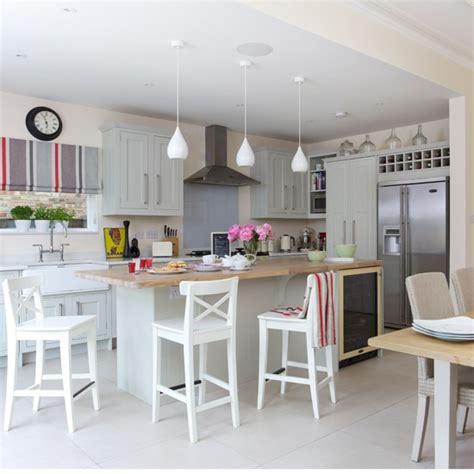 kitchen design ideas uk grey shaker kitchen diner housetohome co uk
