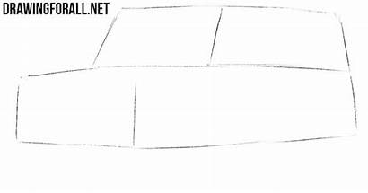 Suv Draw Sketch Drawingforall Step Drawn