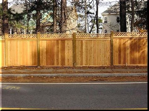 atlanta wood privacy fences