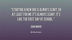 Starting New Job Funny Quotes. QuotesGram