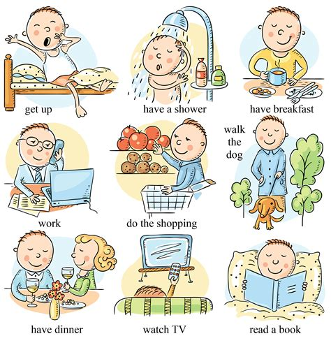 present simple tense  elementary students  images