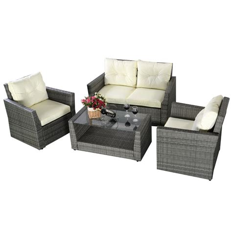 Affordable Patio Furniture Sets by Affordable Variety Outdoor Wicker Rattan Patio Furniture