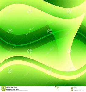 Referral Template Free Abstract Green Wavy Background Royalty Free Stock Image