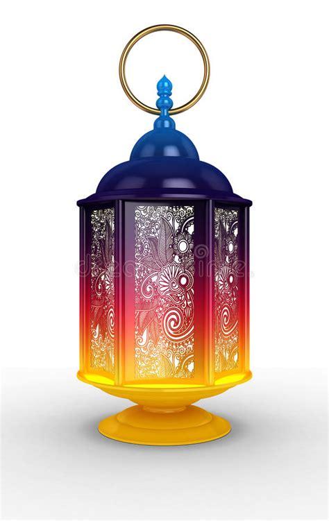 arabic ramadan lantern stock illustration illustration