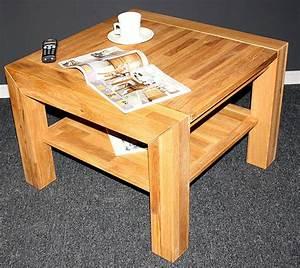 Couchtisch Holz Massiv Eiche Tolles Moderne Dekoration