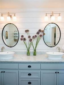 5 things every fixer upper inspired farmhouse bathroom With what kind of paint to use on kitchen cabinets for 3 piece mirror wall art