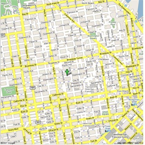 maps  map san francisco