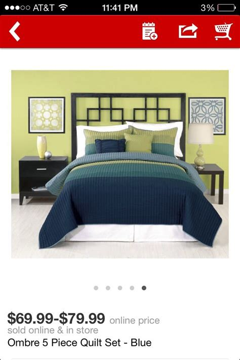 this quilt the green will match my existing