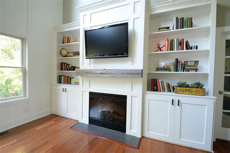 Kitchen Bookcase Ideas - living room built ins quot tutorial quot cost decor and the dog