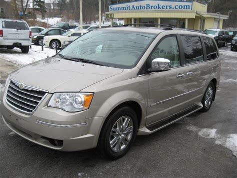 2009 Chrysler Town And Country by 2009 Chrysler Town And Country Limited Beige Summit Auto