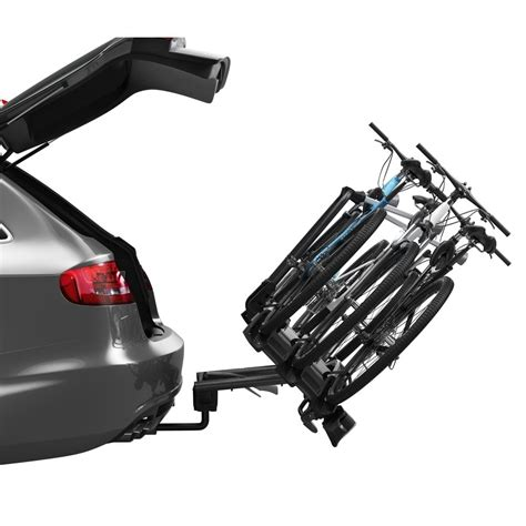 thule velocompact 3 thule 927 velo compact tow mounted 3 bike carrier
