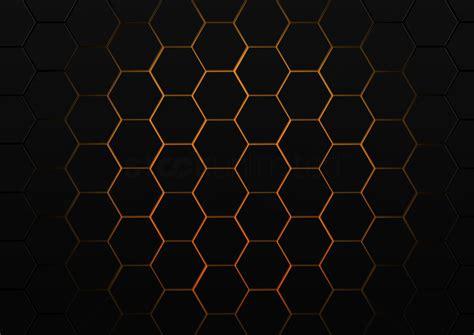 Orange Yellow 3d Honeycomb Background Stock Vector Abstract Honeycomb Background Stock Photo 2011496