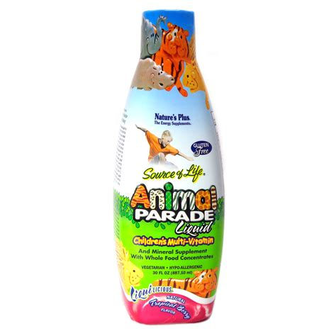 animal parade liquid multimitamin  children  natures