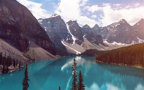 wallpaper  desktop laptop ne lake louise mountain