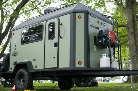 customizable floor plans adak adventure trailers announces customizable trailer