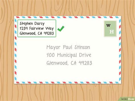 come compilare una busta da lettere come scrivere una lettera al sindaco della tua citt 224