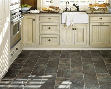 vinyl tile in kitchen vinyl flooring kitchen 6907