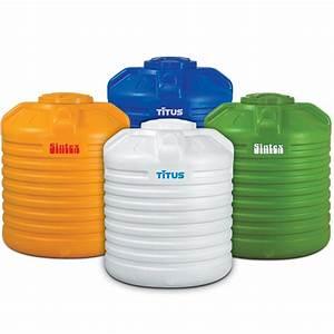Titus Premium Water Tank  Antibacterial Tanks