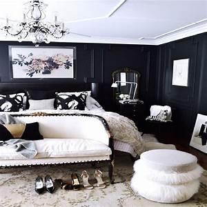 13, Decorating, Ideas, Bedroom, Black, Walls, On, A, Budget