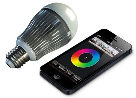 led light bulbs limitlessled color wifi bulbs for iphone