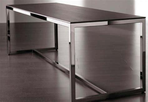 steel by design modern table furniture design iroonie