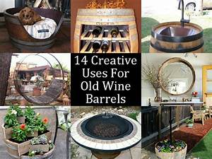 14 Creative Uses For Old Wine Barrels
