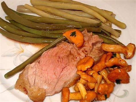 cuisiner les girolles fraiches recettes de viande et girolles