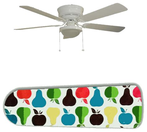 mid century modern ceiling fan mid century modern apples and pears 52 quot ceiling fan and