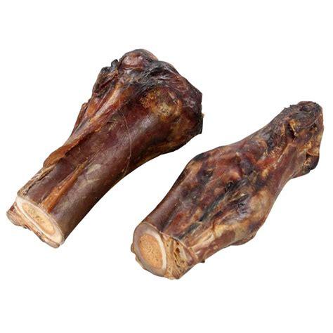 halber pferdeknochen mit achillessehne hunde kausnacks
