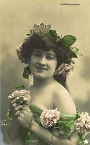 Mlle Maixent, Belle Epoque French Actress as Romantic ...