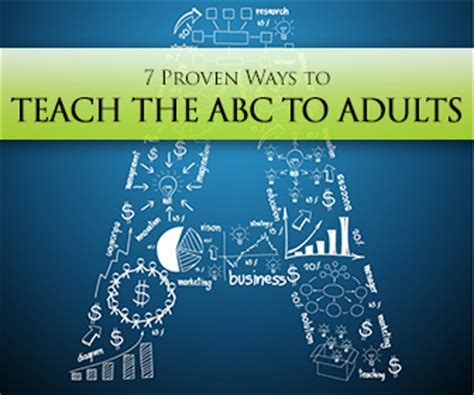 proven ways  teach  abc  adults