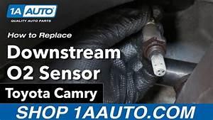 How To Replace Downstream O2 Sensor 06