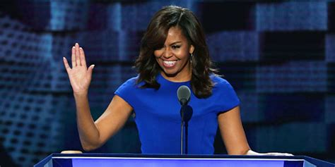 michelle obamas powerful dnc speech critiques donald