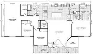 Fleetwood Wide Mobile Home Floor Plans by Wide Floor Plans Three Section Home Plans