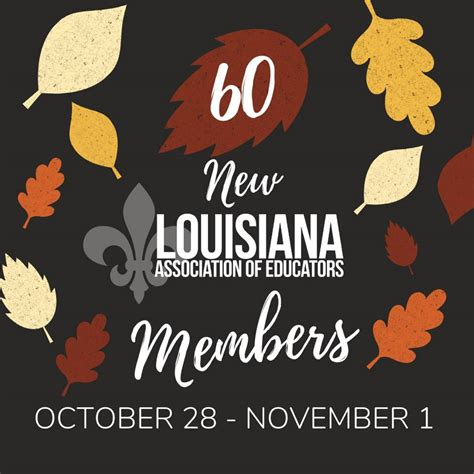 Share insurance coverage for revocable trust accounts is provided to the owner of the trust. Happy First of November! 🍁Fall🍂into... - Louisiana Association of Educators   Facebook