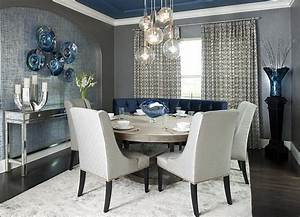 idee decoration salle manger tendance With idee salle a manger design