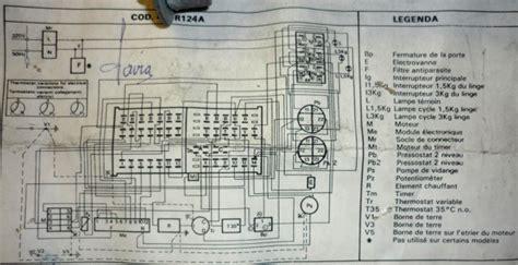 cablage moteur de machine 224 laver 224 2 vitesses forums des 233 nergies chauffage isolation