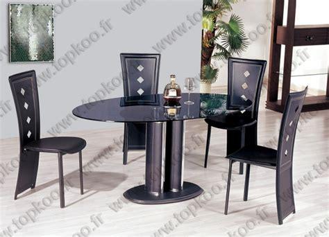 ensemble table et chaise salle à manger ensemble salle a manger table 4 chaises noir table