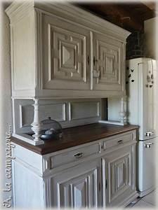 Meuble Repeint En Gris Perle : meuble repeint en gris perle peinture with meuble repeint ~ Dailycaller-alerts.com Idées de Décoration