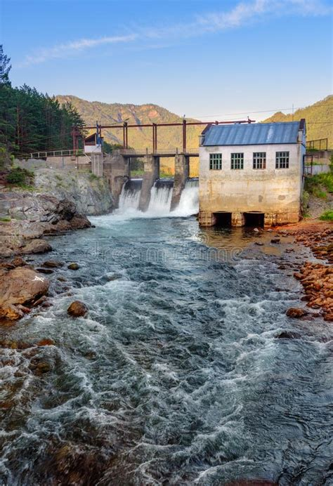 hydroelectric power station chemal altai republic