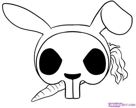 easy drawings  skulls   clip art