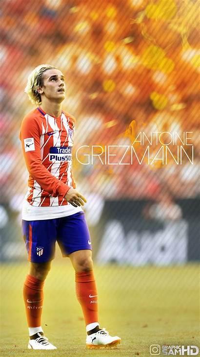 Griezmann Antoine Football Wallpapers Phone Soccer Mobile