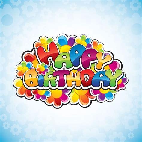 happy birthday vector illustration  vector graphics