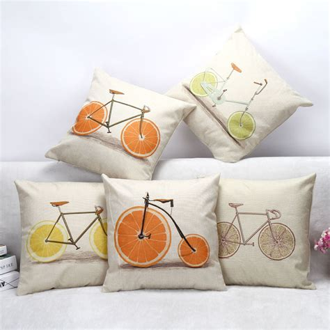 comfortable digital printed decorative sofa pillow cheap