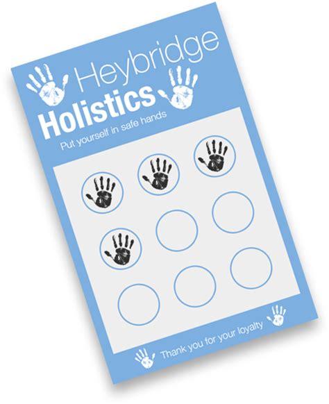 heybridge holistics loyalty cards